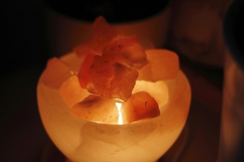 quality himalayan salt lamp light