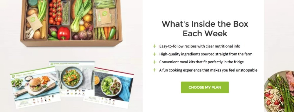 hellofresh meal plan delivery service
