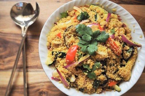 quinoa healthy meal