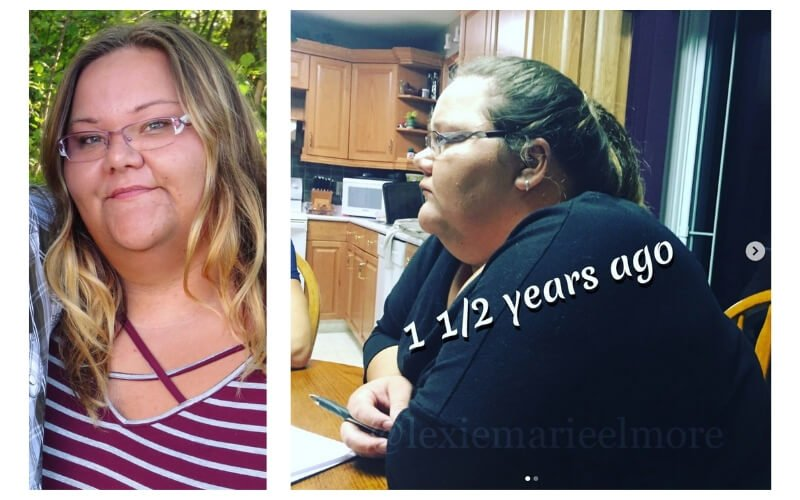 Lexie before weight loss 333 pounds